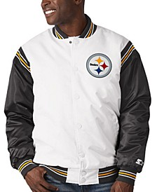 Pittsburgh Steelers Men's The Renegade Satin Jacket