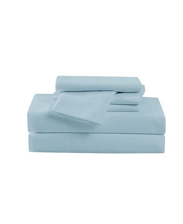Cannon Heritage Solid Twin 4 Piece Sheet Set