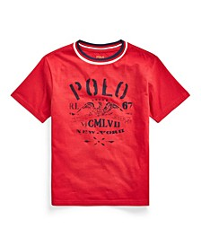 Toddler Boys Cotton Jersey Graphic T-shirt