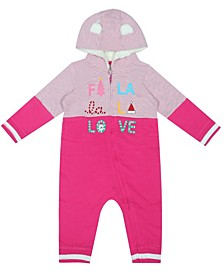 earth by Organic Baby Girl 1-Piece Kaylee Coverall
