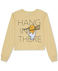 Juniors' Hang in There Long-Sleeve T-Shirt