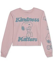 Juniors' Kindness Matters Long-Sleeve T-Shirt