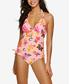 Juniors' Endless Tropical Tankini Top & Endless Tropical Hipster Bikini Bottom, Created for Macy's