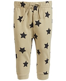 Baby Boys Star-Print Jogger Pants, Created for Macy's