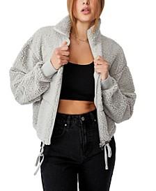 Women's Tatum Zip Thru Teddy Jacket