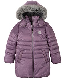 Big Girls Shimmer Puffer Jacket