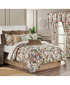 Audrey 4 Piece Queen Comforter Set