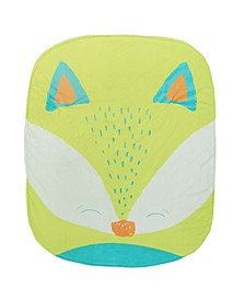 Baby Boys and Girls Cover Mees Fox Stroller Blanket