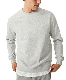 Men's Essential Crew Fleece Pullover