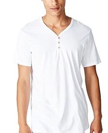 Men's Essential Henley T-shirt