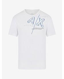 A X Armani Exchange Men's Block Logo T-shirt
