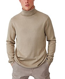Men's Roll Neck Sweater