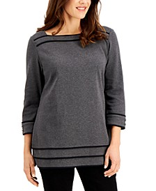 Cotton Boatneck Tunic, Created for Macy's