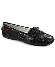 Women's Cypress Hill Tie bow Driver Moccasin