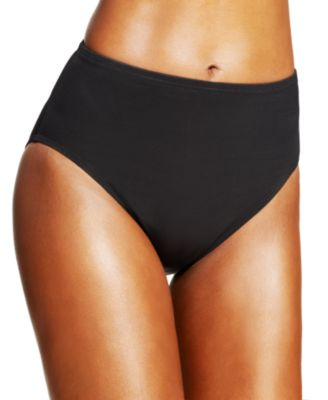 High-Waist Tummy Control Bikini Bottoms