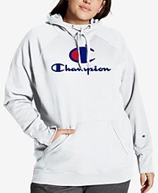 Plus Size Powerblend Graphic Hooded Sweatshirt