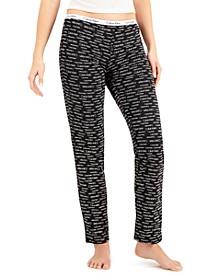 Women's Logo Band Pajama Pants