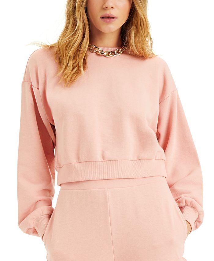 INC International Concepts - Cropped Sweatshirt