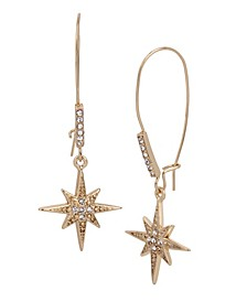Celestial Starburst Dangle Earrings
