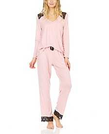 Women's Yummy Jersey Pajama Set
