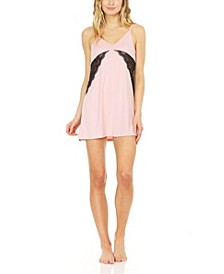 Women's Yummy Jersey Chemise Nightdress