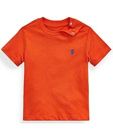 Ralph Lauren Baby Boy Cotton Jersey Crewneck T-Shirt