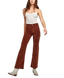 Firecracker Corduroy Flared Jeans