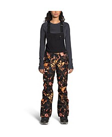Women's Printed Freedom Bib Snow Pants