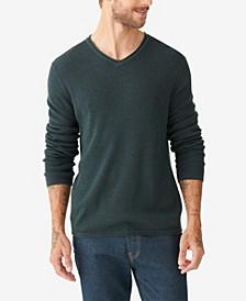Men's Welterweight V-Neck Sweater
