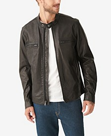 Men's Waxed Leather Bonneville Jacket