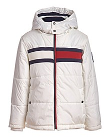 Big Boys Flag Puffer Jacket