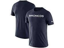 Men's Denver Broncos Dri-FIT Cotton Essential Wordmark T-Shirt