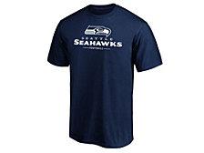 Majestic Men's Seattle Seahawks Team Lockup T-Shirt