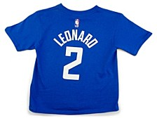 Los Angeles Clippers Kids Replica Name and Number T-Shirt Kawhi Leonard
