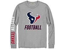 Houston Texans Men's Zone Read Long Sleeve T-Shirt