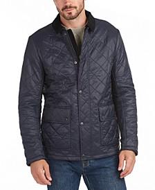 Men's Denill Polar Fleece Box-Quilted Jacket