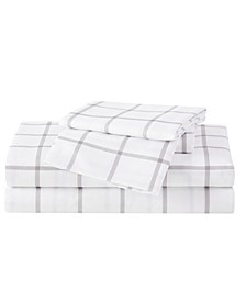 Queen 4 PC Sheet Set