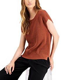 Cap-Sleeve Sweater, Created for Macy's