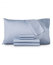 Luna 6 PC Full Sheet Set, 1200 Thread Count Cotton Blend