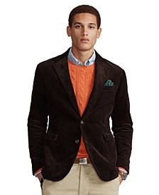 Men's Polo Soft Corduroy Suit Jacket