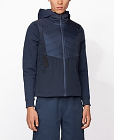 BOSS Men's V_Fai_Water-Repellent Gilet