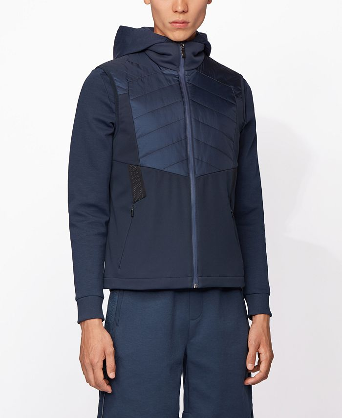 Hugo Boss - Men's V_Fai_Water-Repellent Gilet