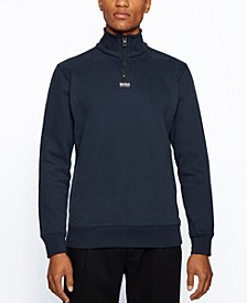 BOSS Men's Zapper Relaxed-Fit Sweatshirt