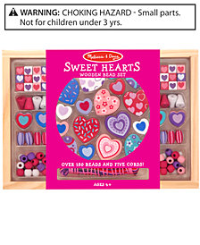 Melissa and Doug Kids Toy, Sweet Hearts Bead Set