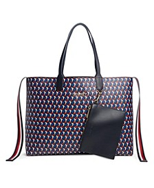 Iconic Tommy Tote in Jacquard