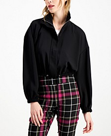 Drawstring-Hem Jacket, Created for Macy's