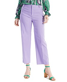 Petite Jacquard Ankle Pants, Created for Macy's