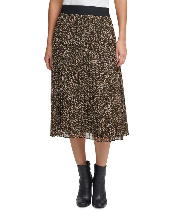 DKNY - Pleated Midi Skirt