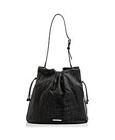 Medium Harlow Black Bergen Shoulder Bag