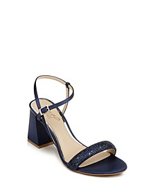 Women's Earlene Block Heel Evening Sandal